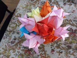 Origami-activitate în Săptămâna Altfel